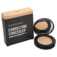 Beautiful Natural Makeup - bareMinerals Creamy Correcting Concealer, Light, 2 Gram *** Check out the image by visiting the link. (This is an affiliate link) #BeautifulNaturalMakeup