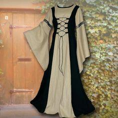 Kleid+Katharina+schwarz-sand
