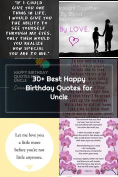 Uncles are like second dads for their nephews and nieces. Sometimes they also play the role of a best friend in your  Birthday Quotes for Uncle Uncle Birthday Quotes, Nephew Quotes, It's Your Birthday, My Eyes, Hug, Best Friends, Dads, Play, Life