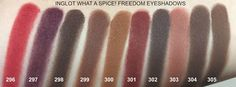 INGLOT What a Spice! Collection - Eyeshadows, Lipsticks, Lipliner - Review and Swatches | TotalMakeUpAddict