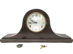 Sessions Mantle Clock in a Wood Case Eight by CreekLifeTreasures