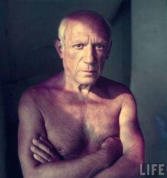 Pablo Picasso por Gjon Mili 1949