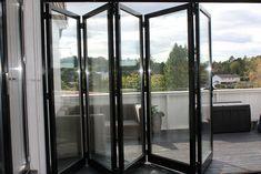 Aluminium foldedør for Hus / Vinterhage / Sommerstue - tilpasset mål Room, Outdoor, Furniture, Home Decor, Patio, Bedroom, Outdoors, Decoration Home, Room Decor