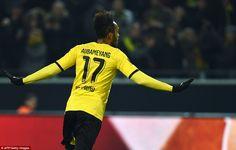 Borussia Dortmund 3-0 Tottenham: Pierre-Emerick Aubameyang and Marco Reus both net to hand German side first-leg advantage
