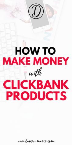 How to make money with clickbank products. A clickbank marketing strategy from a five figure affiliate marketer Making Incomes from online & affiliate marketing Earn Money Online, Make Money Blogging, Way To Make Money, How To Make, Money Fast, Online Jobs, Money Tips, Online Careers, Money Hacks