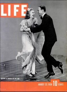 Astaire & Rogers Do the Yam, 1938, Life