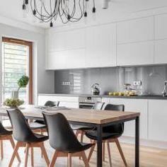 Cozinhas modernas por MO Architekci