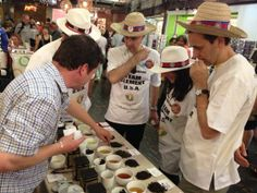 One of our sponsors, Harney & Sons Tea, challenges a team with a tea tasting. #Duckathlon