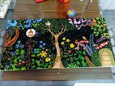 Meus livros de colorir: Jardim Secreto, Floresta Encantada e Floresta Mágica