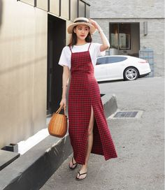 Korean Fashion Trends you can Steal – Designer Fashion Tips Modest Fashion, Hijab Fashion, Girl Fashion, Fashion Dresses, Womens Fashion, Korean Fashion Trends, Korea Fashion, Asian Fashion, Stylish Outfits