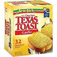 New York Bakery Garlic Texas Toast, Frozen ct. Frozen Garlic Bread, Frozen Bread Dough, Texas Toast Bread, Dog Food Recipes, Snack Recipes, Snacks Ideas, Kid Snacks, Frozen Dinner Rolls, Frozen Appetizers