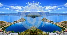 The Enchanting Scenery Of Lugu Lake - Download From Over 26 Million High Quality Stock Photos, Images, Vectors. Sign up for FREE today. Image: 41917358