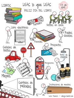 Fantásticos carteles creados por LARA ROMERO          AUTOR:  N ÉSTOR ALONSO Ap Spanish, Spanish Lessons, Teaching Spanish, Visual Map, Reading Projects, Sketch Notes, Coffee And Books, Love Reading, Love Book