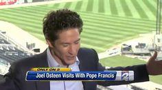 False Prophet : Ecumenicalist Osteen gets Divinely Inspired after meetin...