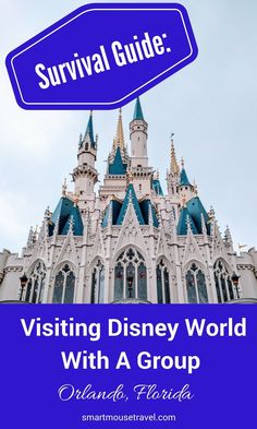Visiting Disney World with a group can either provide wonderful memories or cause relationships to suffer. Use my tips and experiences in this survival guide to make your trip fun for everyone! Disney World Guide, All Disney Parks, Disney World Florida, Disney World Tips And Tricks, Disney World Vacation, Disney Tips, Disney Cruise Line, Disney World Resorts, Disney Vacations