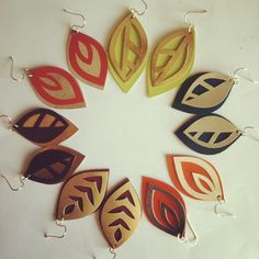 Just got in some NEW leather colors for TOM girl Jewelry... Here are the samples!