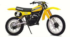 1980 Yamaha YZ125G | Tony Blazier | Flickr