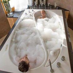 อ่างอาบน้ำหยินหยาง เพิ่มความดื่มด่ำให้คนมีคู่