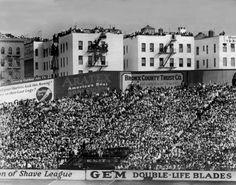 Fans pack Yankee Stadium in 1928.