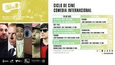 Cartelera Sala Lumiére, Ciclo de Cine: Comedia Internacional. Del 22 al 27 de noviembre de 2016. Dos funciones: 16:00 y 18:30 horas. Cooperación: $10.00 #Culiacán, #Sinaloa.