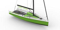Ultra Sport Offshore Racer Sailboat by Bernard Nivelt, Michele Molino, Giorgio Angelini