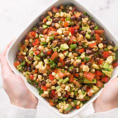 I Heart Naptime - Cowboy Caviar Dip | Facebook Cowboy Caviar Dip, Homemade Dressing, Dips, Veggies, Fresh, Facebook, Heart, Ethnic Recipes, Food