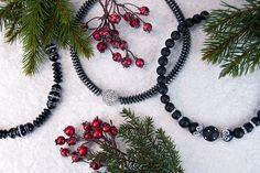 Eleganter Festtagsschmuck von atelier ie.   Elegant jewellery for the holidays by atelier ie.