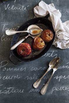 Baked Apples with Spéculoos serves 8 - http://mimithorisson.com/2016/09/08/2-more-recipes-from-my-new-cookbook/