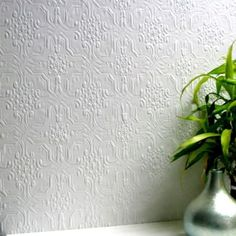 Textured-White-Paintable-Pressed-Metal-Effect-Wallpaper-10m-Berkeley-Design