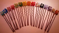 Horquillas moño y trenzas Swarovski Beaded Hairpins for buns and plaits Tutorial