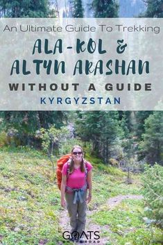 Planning a trip to Kyrgyzstan? Or simply looking for the best hikes in the world? If you love adventure travel, you won't be disappointed with the Ala-kol & Altyn Arashan trek. Here's everything you need to know about hiking in Kyrgyzstan, Central Asia   #centralasia #kyrgyzstan #hiking #hike #trekking #besthikes #adventure #trek #backpacking #bestofasia #asiatravel