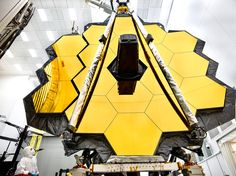 James Webb Space Telescope Primary Mirror Prepared for Testing at Johnson Space Center #NASA #ImageoftheDay