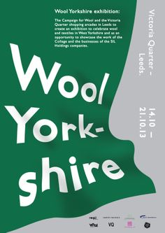 Wool Yorkshire - Exhibition on Behance
