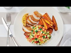 There's a new way to plan delicious weeknight dinners without breaking the bank. We call it Fine-ish Dining, and it lets you cook 5 value-packed dinners for . Wedges Recipe, Olive Oil And Vinegar, Corn Salsa, Chicken Seasoning, Lemon Chicken, Budget Meals, Tray Bakes, Chicken Recipes, Stuffed Peppers