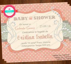 Esta Invitación es Ideal para un evento de Baby Shower, Cumpleaños, Recital, Despedida de Soltera, etc… Usted podrá imprimir todas las invitaciones que necesite en cualquier impresora hogareña o llevarlas a un centro de impresión. Visita nuestra página web y conoce todos nuestros diseños de invitaciones.