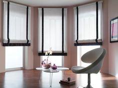 Rolety rzymskie - prosta i elegancka ozdoba dla naszego okna oraz ochrona przed słońcem.