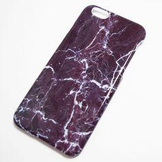 Purple Marble iPhone 6 / iPhone 6S Hard Case