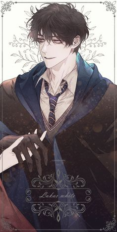 Handsome Anime Guys, Cute Anime Guys, Hot Anime Boy, Anime Love, Fanart Harry Potter, Arte Do Harry Potter, Manga Art, Manga Anime, Anime Art