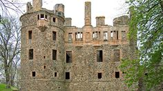 Ruins of Huntly Castle in Huntly, Scotland