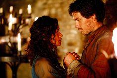 Sir Lancelot with Gwen.
