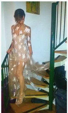 Lovely @NatasciaMontoleone in #Blumarine floral dress!