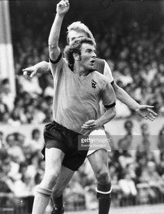 Wolverhampton Wanderers' Alan Sunderland in joyous mood