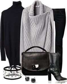 """""""Shawl Sweater"""" by elayne-forgie ❤ liked on Polyvore"""
