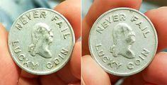George Washington Lucky Coin