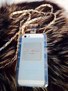 Chanel iPhone case chanel perfume bottle -Hazel Silhouet