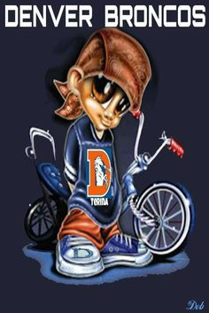 Broncos Fan For Life!