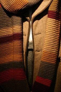 Tom Baker's Scarf The Doctor Who Experience exhibition