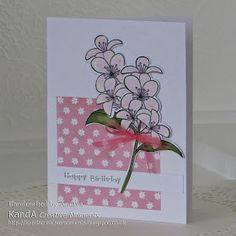 Fresh Flowers - clearly besotted stamps