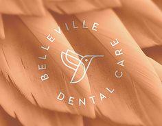 """Dai un'occhiata a questo progetto @Behance: """"Belleville Dental Care Brand Design"""" https://www.behance.net/gallery/38853209/Belleville-Dental-Care-Brand-Design"""