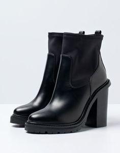 Bershka Czech Republic - Bershka neoprene ankle boots